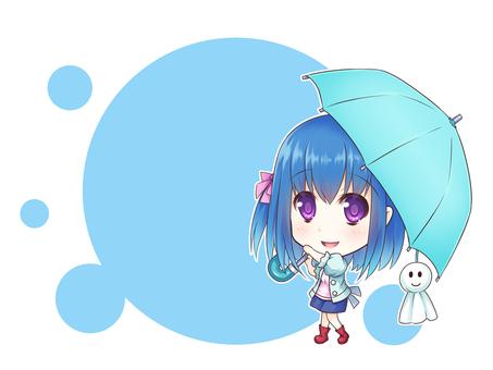 Message card (rainy season A)