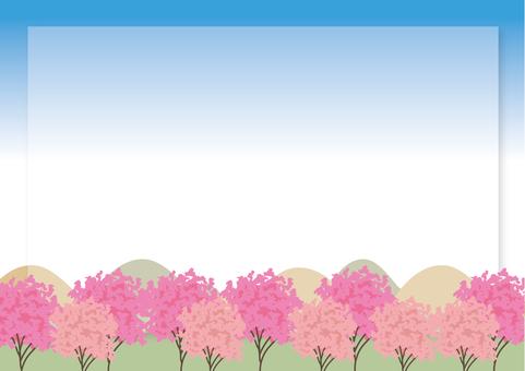 桜 wood scenery B