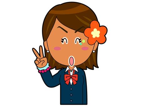 Piece _ Kogal Schoolgirl A_044