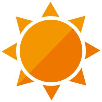 날씨 태양