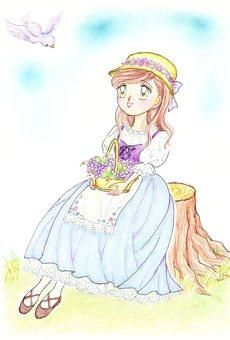 German country girl