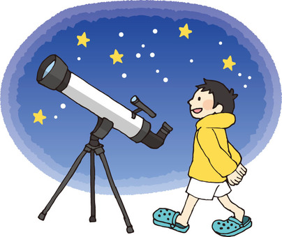 Astronomical observation (starry sky)