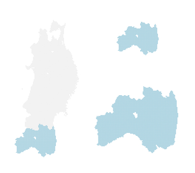 Dot map Fukushima 2