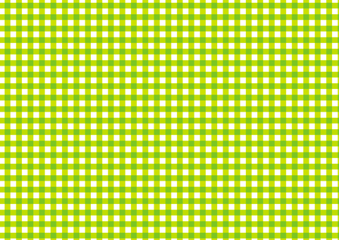 Yellow green gingham check