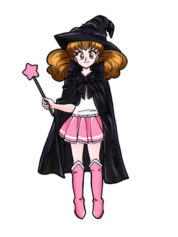 Magical girl (pink)