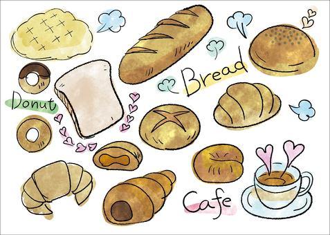 Food set (bread) 02_01