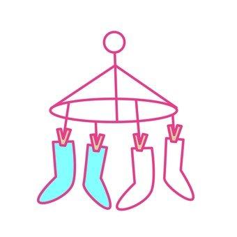 Socks laundry