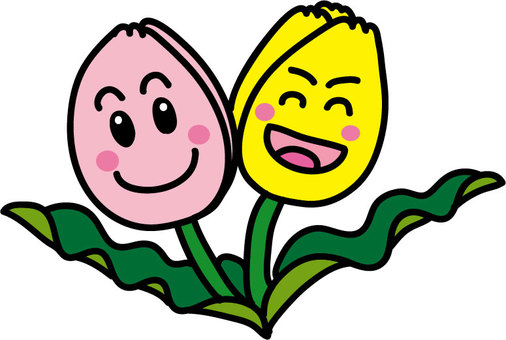 Smiley tulip