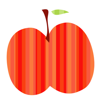 Apple (striped)