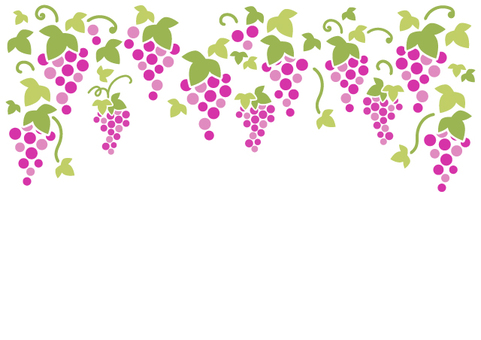 Grape background material