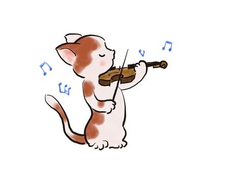 バイオリンねこ39