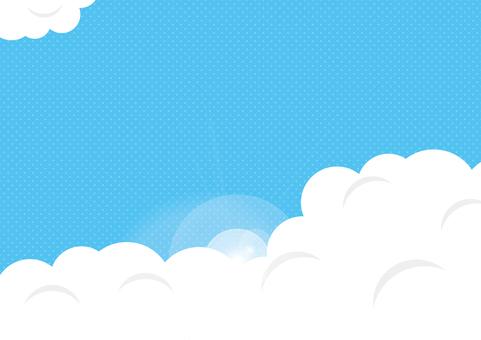 Blue sky _ dot