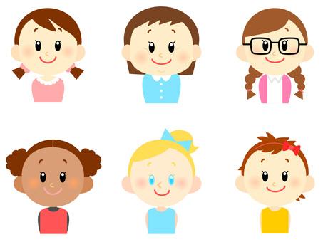 Various children / girls