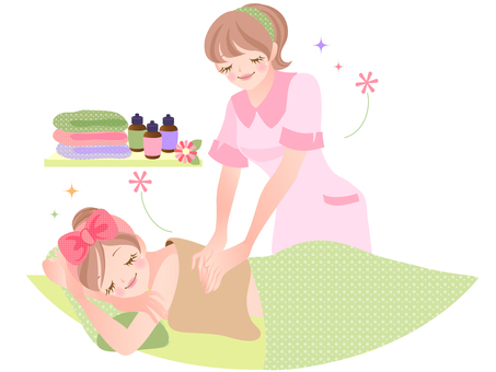 Illustration of beauty / body care