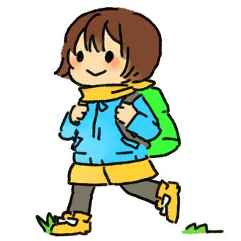 Nana hiking