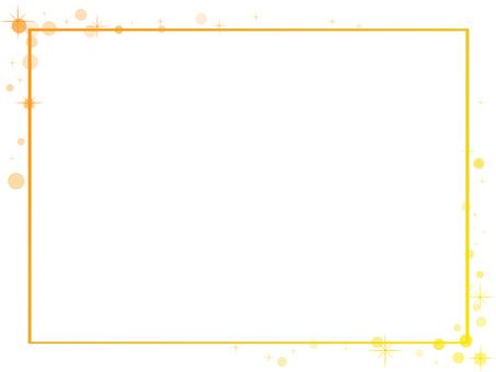 Simple frame (yellow orange)