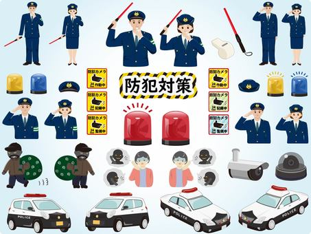 Police-related disaster prevention measures set