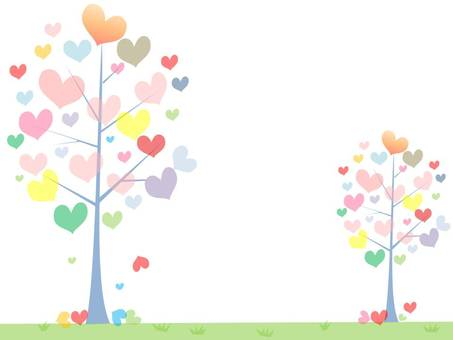 Colorful tree (heart)