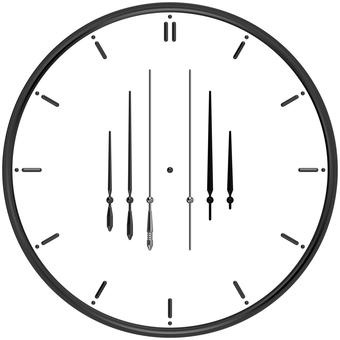 Clock-making needle set