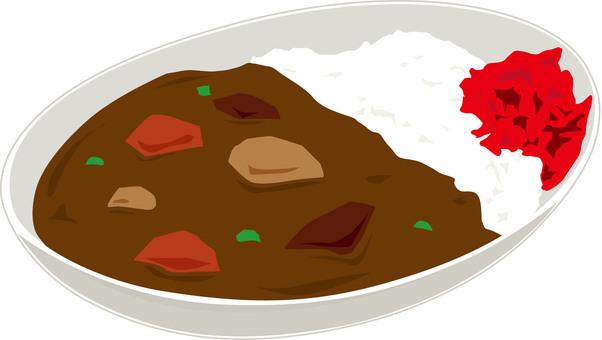 咖哩和米飯