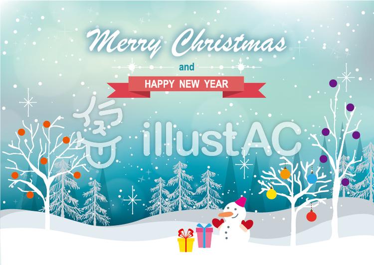 クリスマスの風景イラスト No 952994無料イラストならイラストac