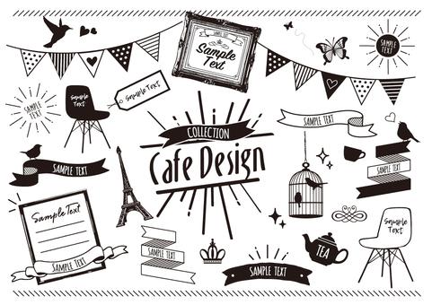 카페 디자인 모티브