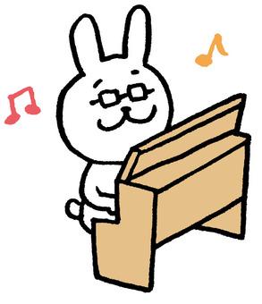 Rabbit teacher organ
