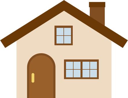 갈색 지붕의 집