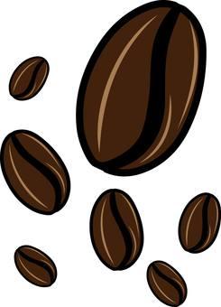 Coffee beans coffee