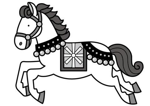 Horse 3-2c