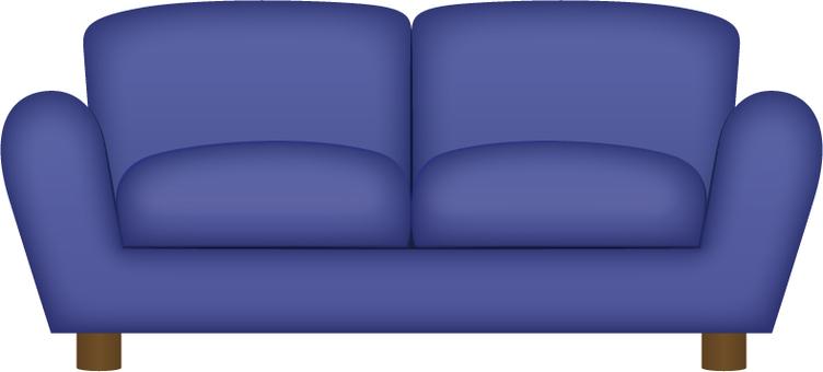 Interior _ sofa _ blue