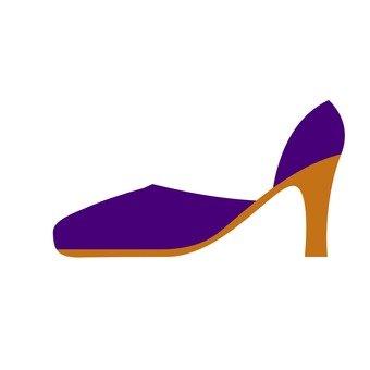 High heels (purple)
