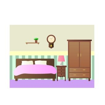 A couple's bedroom