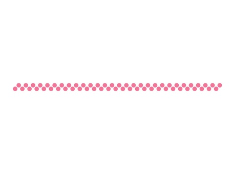 Pink dot line (2 rows)