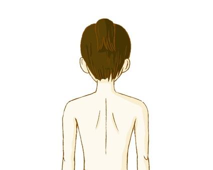 Back, Female 02
