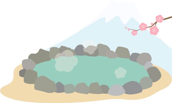 Hot spring hot spring