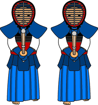 Kendo bigger kids practice 2