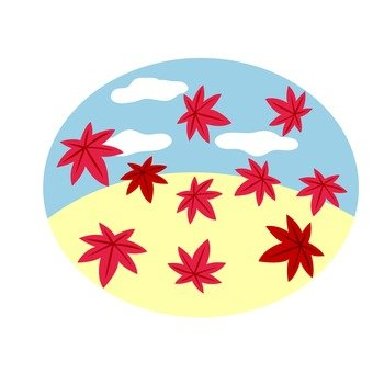 Autumn leaves icon 2