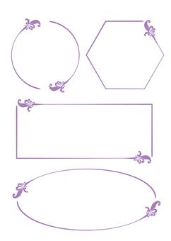 Border / Purple