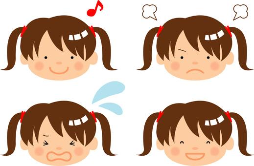 Girls' emotions / type I / uta