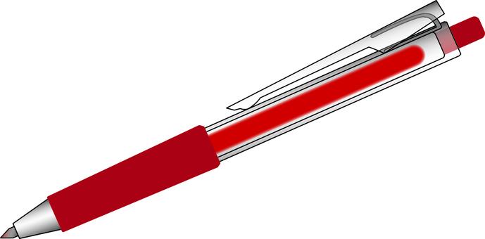 Ballpoint pen red