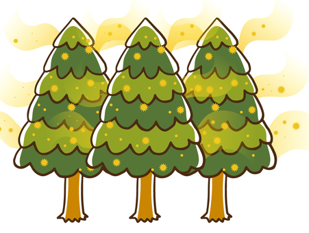 Japanese cedar and cypress pollen