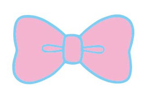 Pink pastel ribbon
