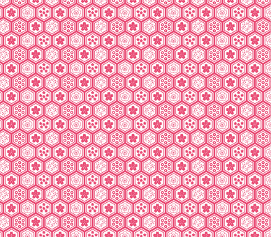 Cherry blossoms pattern 4