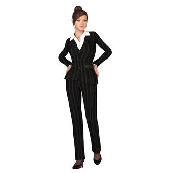 Pants suit woman 01