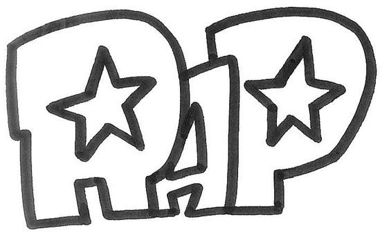 RAP 랩 로고 logo