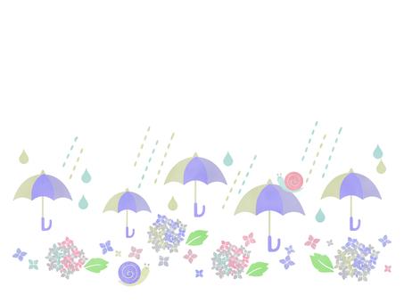 장마 일러스트 02