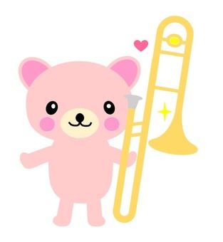 Trombone and Kuma-chan