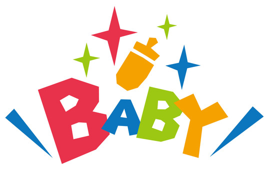 BABY baby ★ pop logo ★ icon