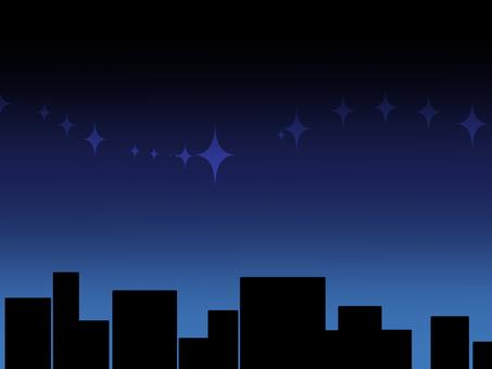 A quiet star nights